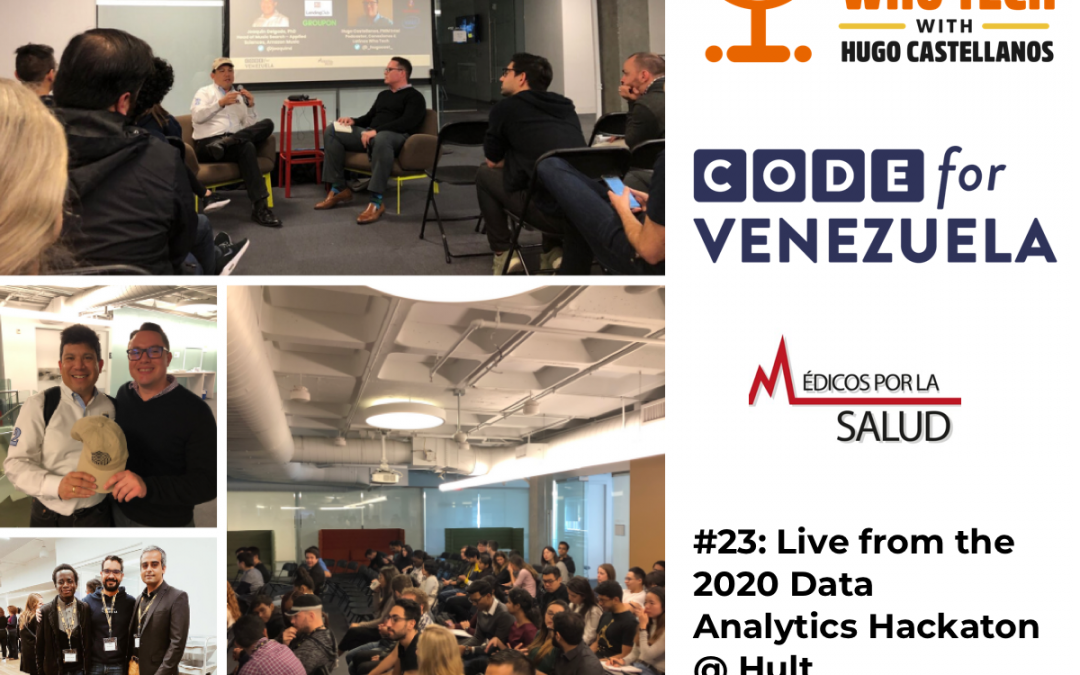 Fireside Chat with Joaquin Delgado, PhD @ Code for Venezuela 2020 Hackaton