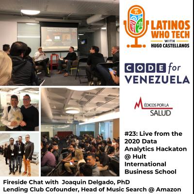 Fireside Chat with Joaquin Delgado, PhD @ Code for Venezuela 2020 Hackaton